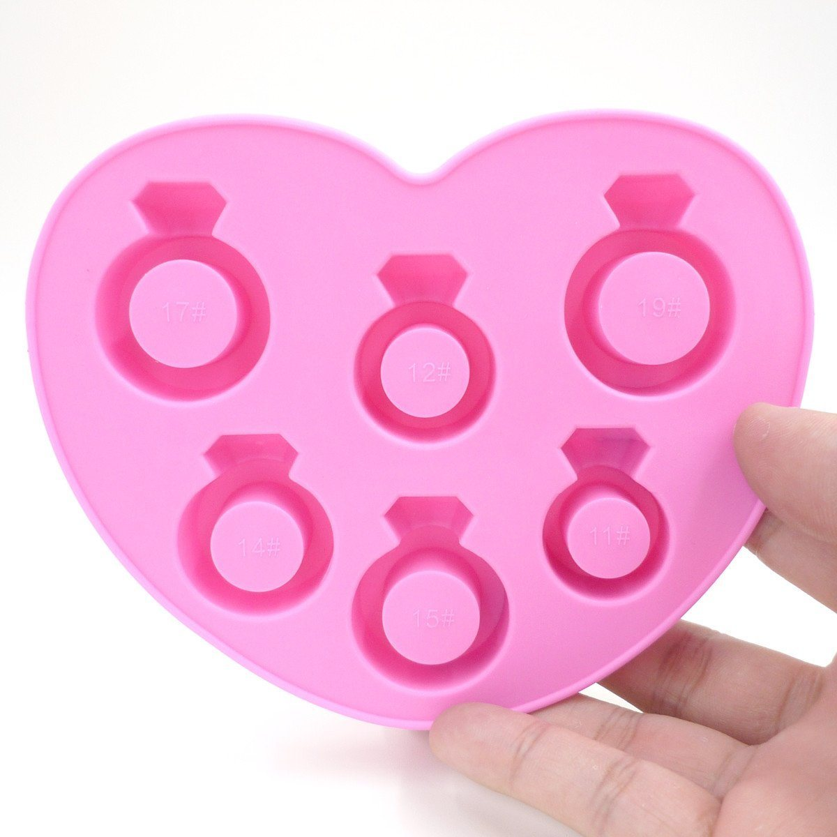 FDA Grade Creative Finger Love Ring Silicone Ice Cube Tray pictures & photos