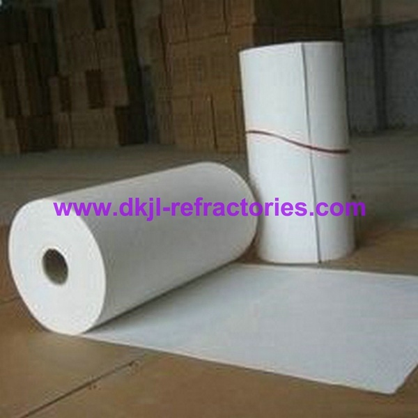 High Alumina Fire Resistant Thermal Insulation Ceramic Fiber Paper