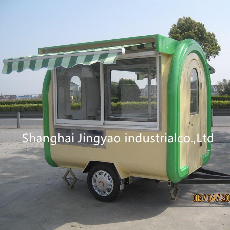 [Hot Item] Best Designed Street Food Cart Mobile Used Coffee Cart/Street  Food Kiosk Design for Sale