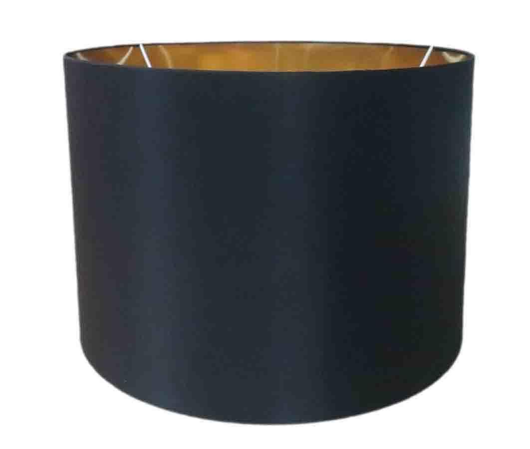 China Custom Barrel Lamp Shades Gold Paper Replacement Lampshade Factory Lampshades