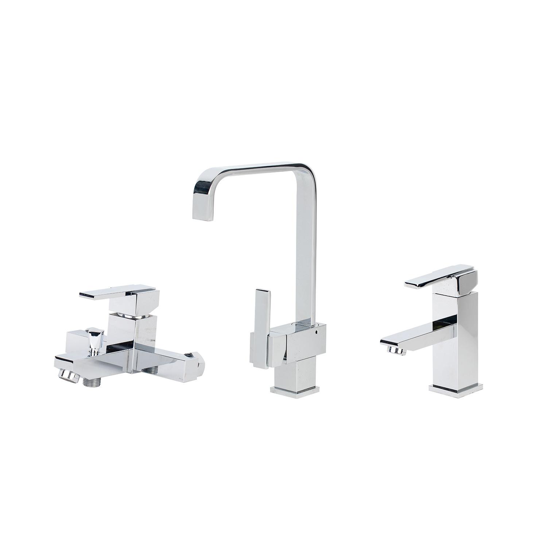 China New Bathroom Waterfall Brass Lavatory Basin Kitchen Bathtub
