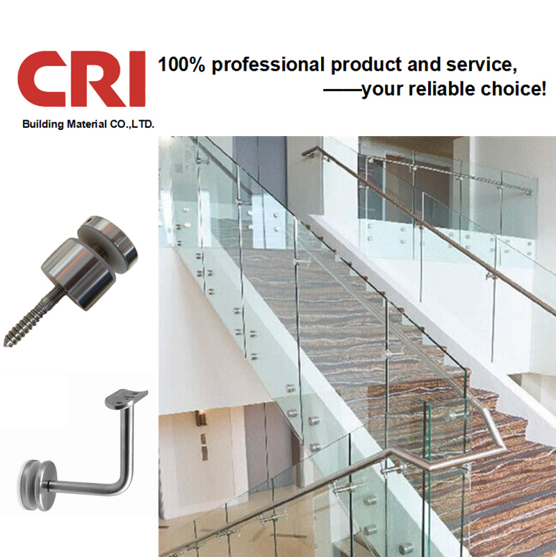 China Stainless Steel Railing Staircase Design/Glass ...