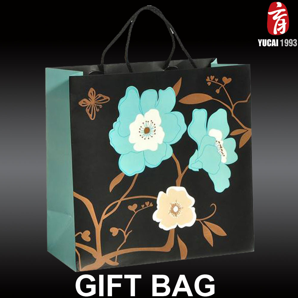 Flower Series 2017 Newly Designed Paper Shopping Bag
