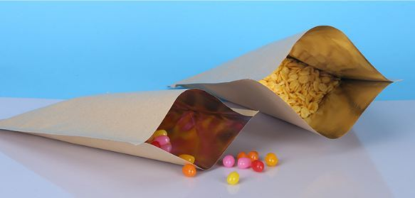 Aluminum Foil Padded Kraft Paper for Food Packaging Material pictures & photos
