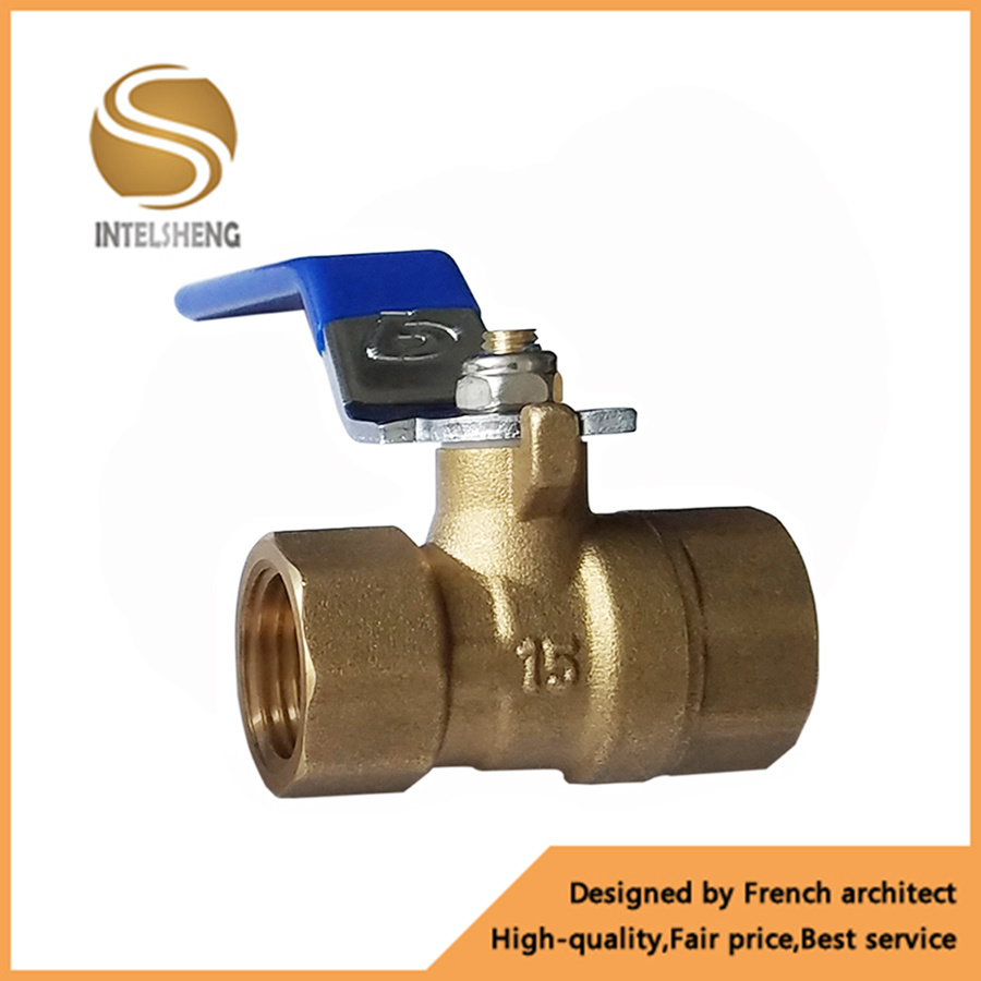 China 1/2 Inch Dn15 Brass Water Ball Valve with Lever Handle - China ...