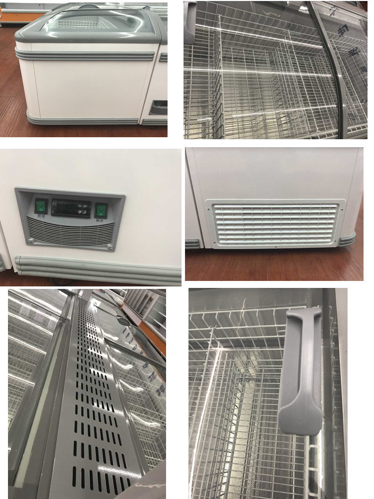 Aht Type Seafood Freezer Aht Commercial Chest Freezer for Sale