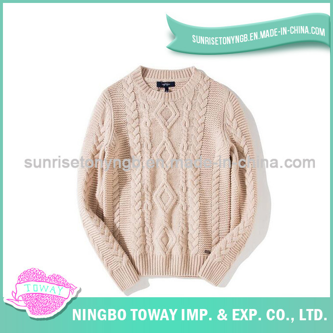 [Hot Item] Ladies Fancy Crochet Long Sweater Design Wool Sweater