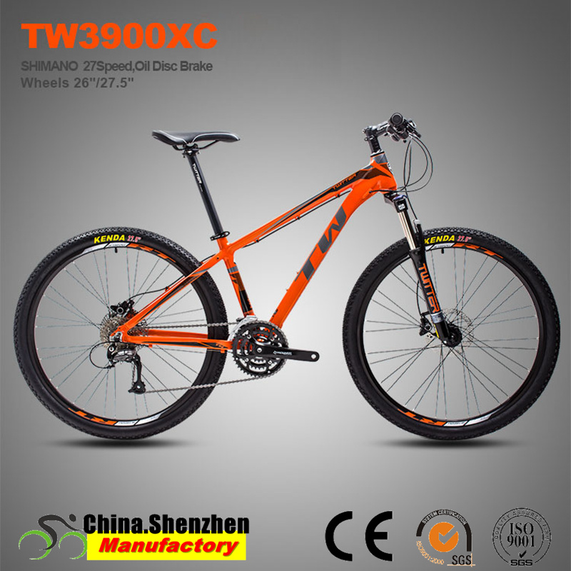 27 Speed Hydraulic Brake Aluminum Frame 27.5 Mountain Bike pictures & photos