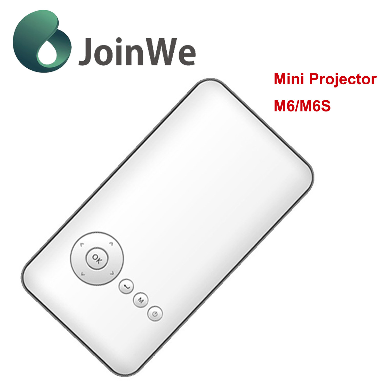Multimedia Portable HD LCD Smart Mini Projector M6/M6s pictures & photos