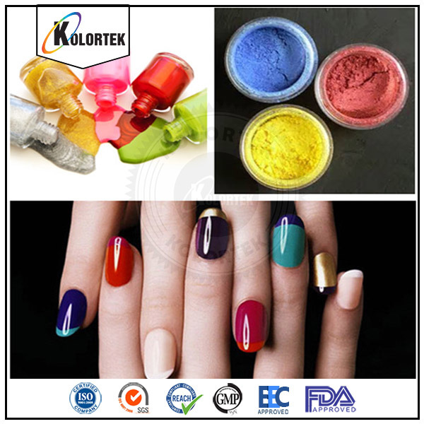 China Mica Pearl Nail Polish Pigment, Multicolor Mica Powders for ...