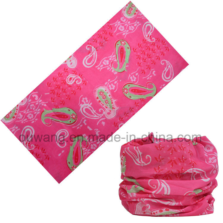 Hot Fashion Multi-Purpose Custom Printed Tube Magic Elastic Headwear pictures & photos
