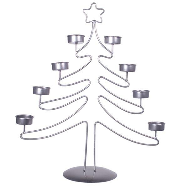 China Christmas Tree Metal Wire Votive 6 Tea Light Candle Holder Metal Wire  Xmas Home Decor - China Christmas Tree Metal Wire Candle Holder, Christmas  Tree ... - China Christmas Tree Metal Wire Votive 6 Tea Light Candle Holder