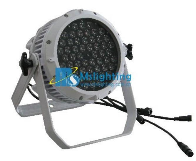54*3W DMX 512 Waterproof LED PAR Light