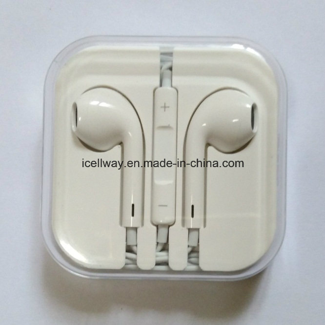 Wholesale Earphone for Apple Earbuds for iPhone Earphones Factory pictures & photos