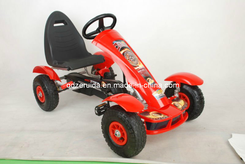 Children′s Pedal Go Kart, Inflatable Wheels Go Kart, Toy Car pictures & photos