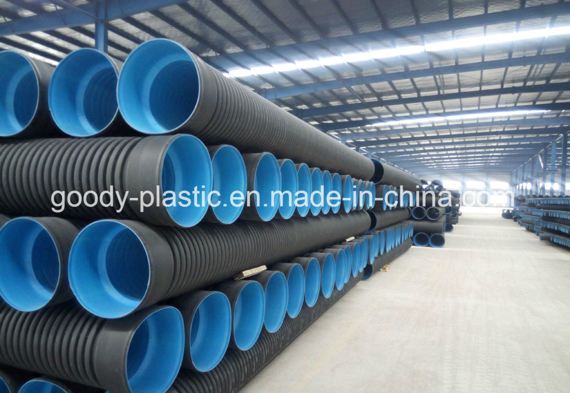 [Hot Item] HDPE Double Wall Corrugated Pipe Specifications Goody