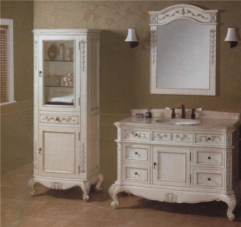 china solid wood plywood vanity sanitary ware bathroom