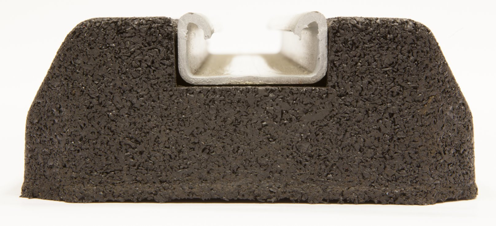 Durafoot Fx400-Low Rubber Support Foot Rooftop Block Base for Cable Tray, Busbar, Ducting & Pipework pictures & photos