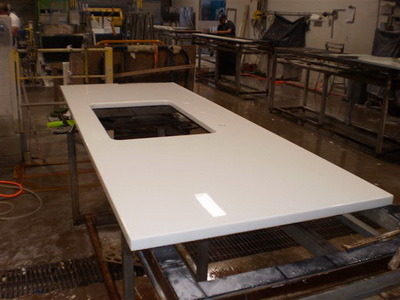 China Super White Nano Glass For Counter Top Or Vanity Top