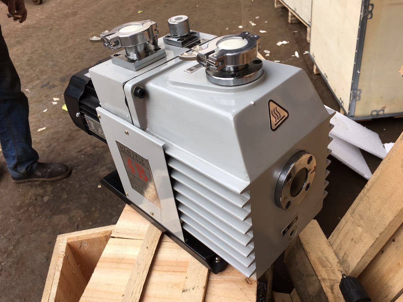 Direct Drive Rotary Vane Vacuum Pump (2XZ) Series