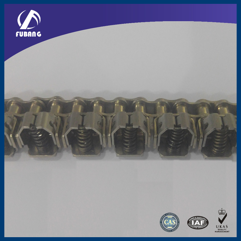 Stainless Steel Roller Gripper Chain for Machine (film clamp chain)