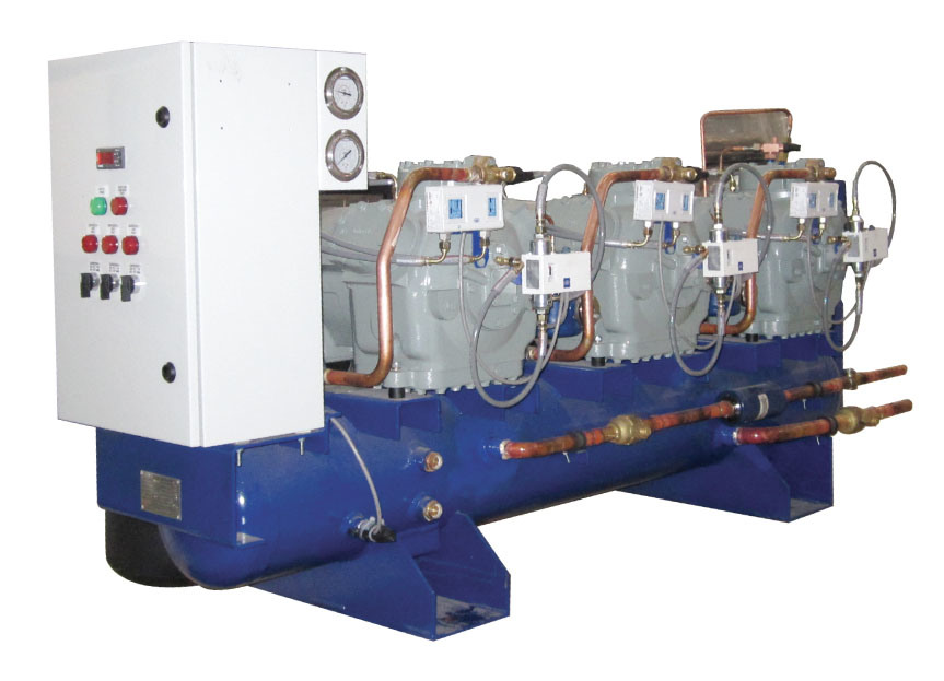 Rack Condensing Unit with Carrier Compressor