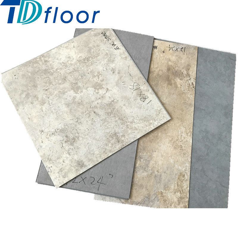 Good Quality Stone Vinyl Floor Luxury Vinyl Tile Certificated PVC Vinyl Flooring pictures & photos