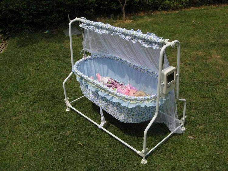 China Electric Baby Cradle With Remote Control China