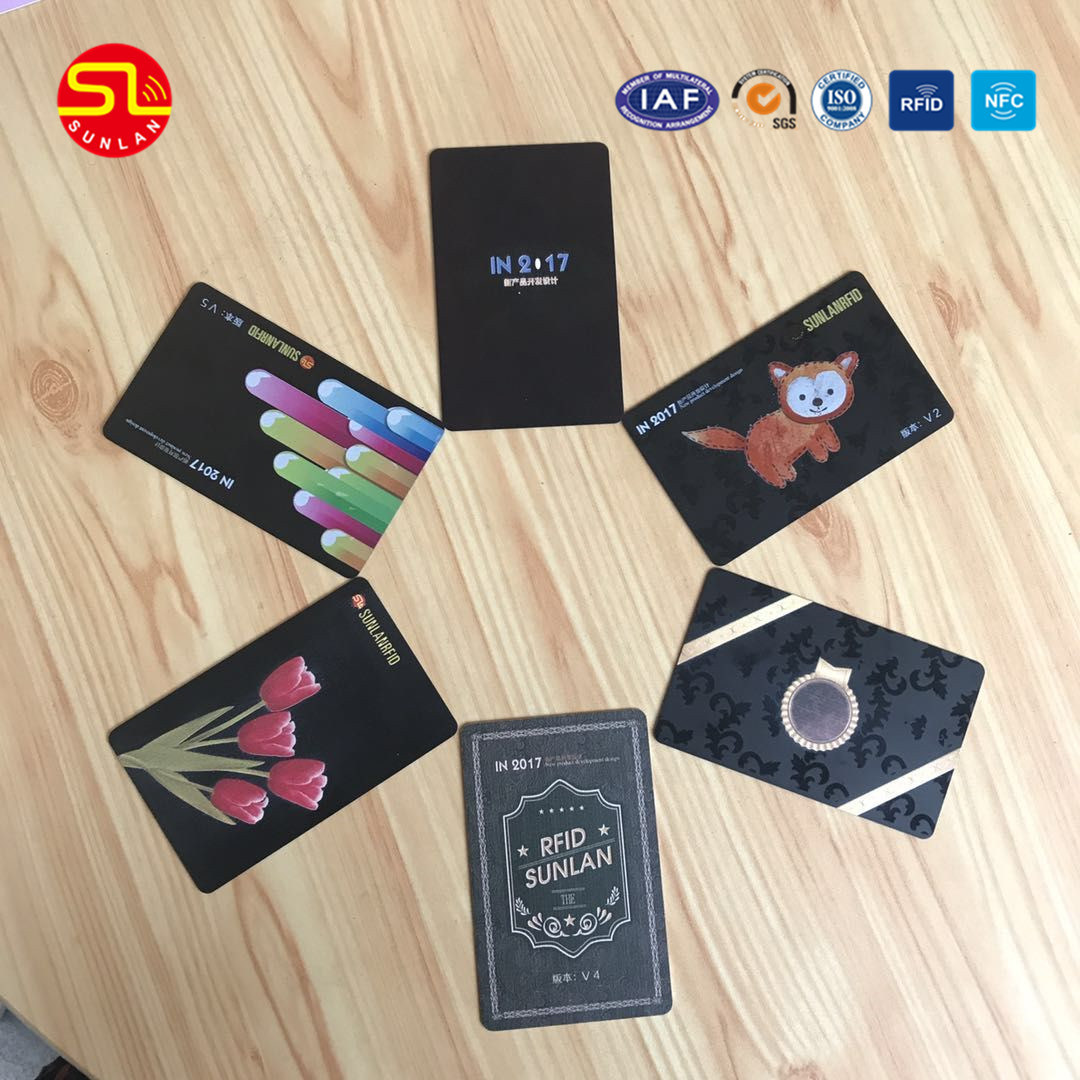 China High Quality Contactless Smart RFID Business Cards for Gym ...