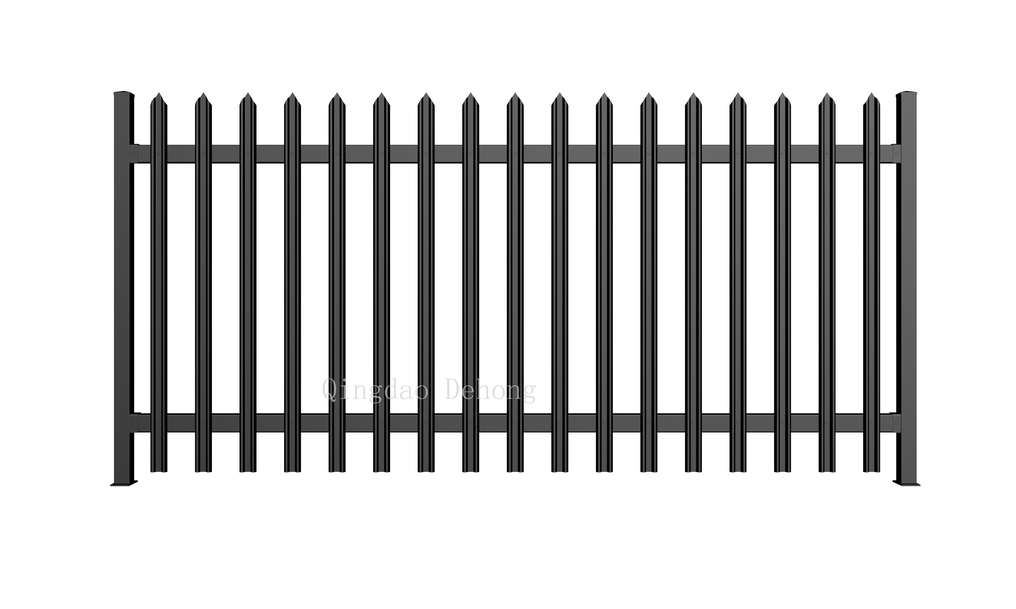 Picture of: China High Quality Wrought Iron Fences China Ornamental Farm Security Fences Hot Selling Metal Fence