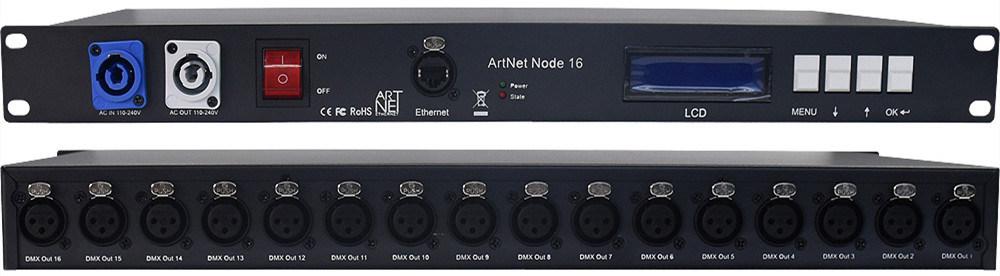 [Hot Item] Showjockey LED Controller DMX Artnet Controller Madrix Software  Controller 2, 4 and 16 Universes