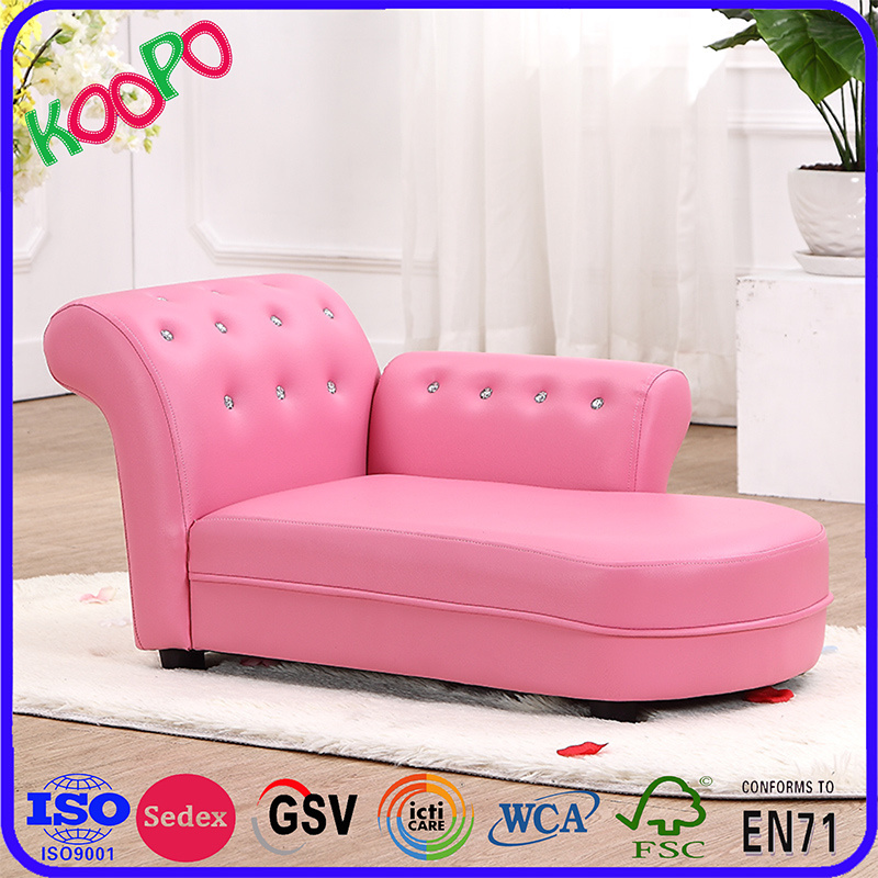 Chaise Lounge PVC Leather Chair/ Children Furniture (SXBB-60) pictures & photos