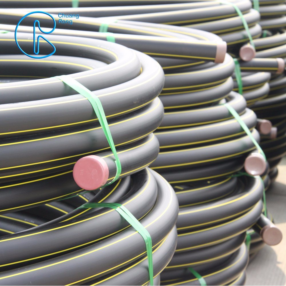China Pe100 Plastic Gas Piping System Electrical Wiring And