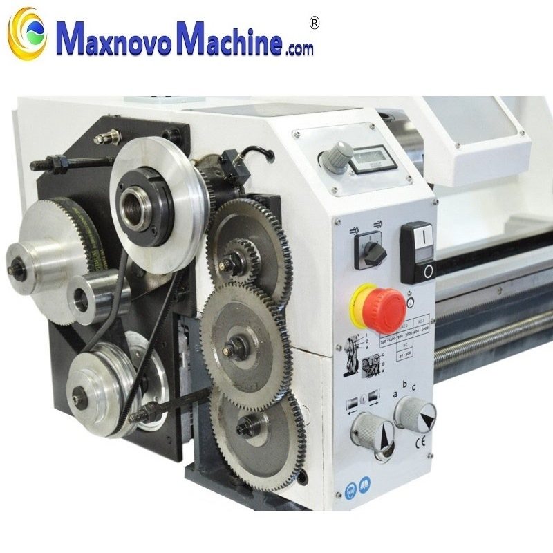 Variable Speed Precision 1100W Metal Mini Bench Lathe (mm-TU2506V) pictures & photos