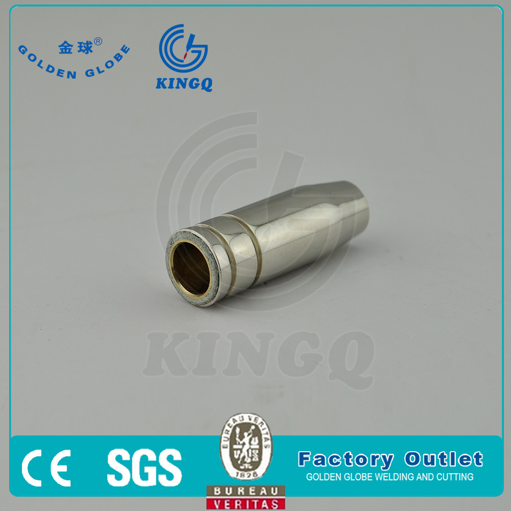 Kingq Binzel 15ak Conical Copper Gas, MIG Welding Torch Nozzle pictures & photos