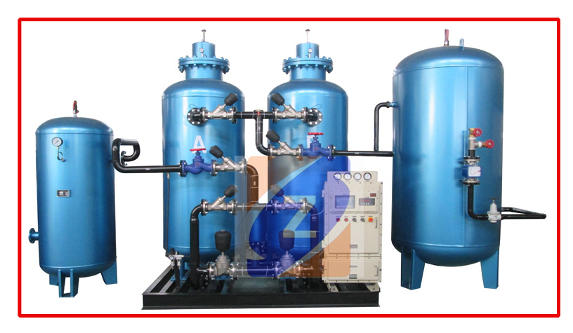 Oxygen Gas Cylinder Filling System with Booster