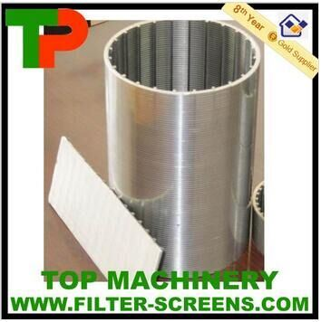 Wire-Wrapped Stainless Steel Screen Pipe pictures & photos