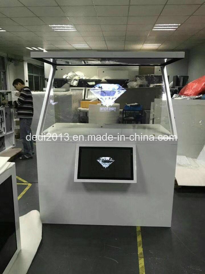 D Hologram Exhibition : China inch d holobox hologram display showcase holographic