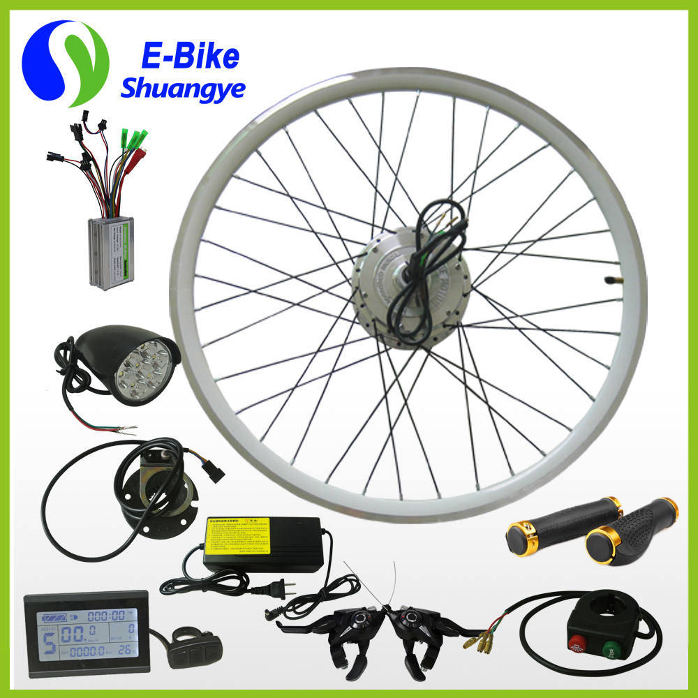 Shuangye Electric Bicycle Conversion Motor Kit 36V 48V 250W 350W 500W pictures & photos