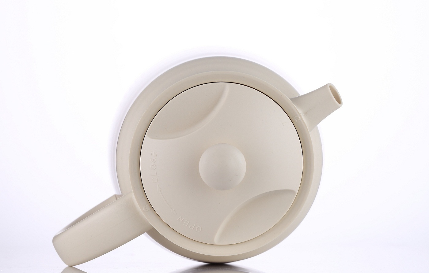Double Wall Stainless Steel Vacuum Teapot pictures & photos