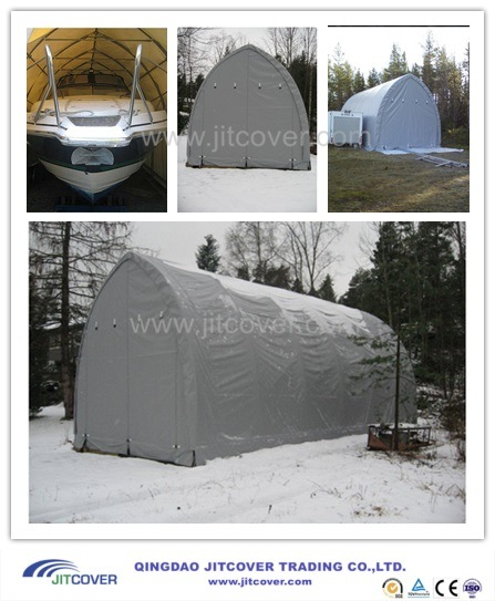 16u2032 Wide Easy Assembly Portable Boat Shelter / RV Tent / Yacht Cover (JIT-1639S) & China 16u2032 Wide Easy Assembly Portable Boat Shelter / RV Tent / Yacht ...
