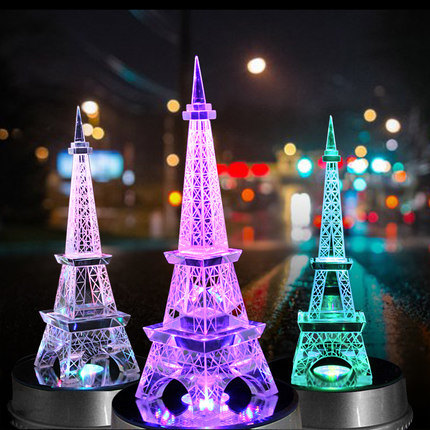 Crystal Tall Building Model for Decorate Home, Office Crystal Decoration