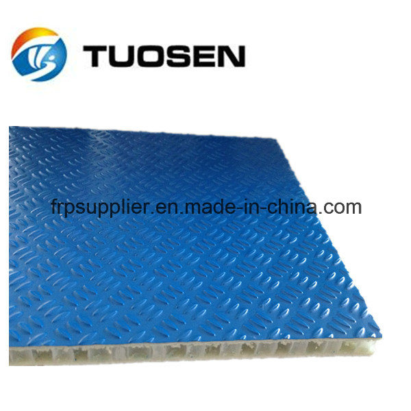 FRP Scaffolding Panel with Aluminum Frame, Anti-Slip Panel