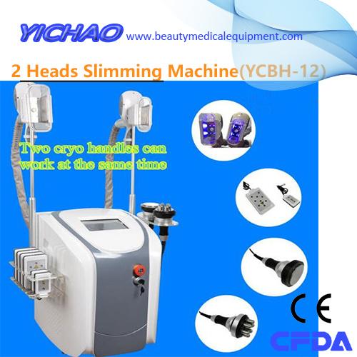 [Hot Item] Portable Cryo Cavitation RF Handles Multifunction Shaping  Slimming Beauty Equipment