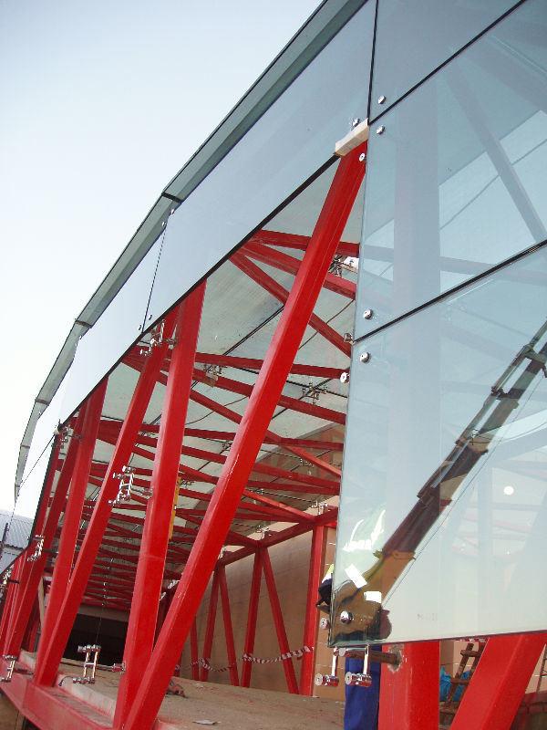 China Laminated Tempered Heat Soak Tested Glass China Anti
