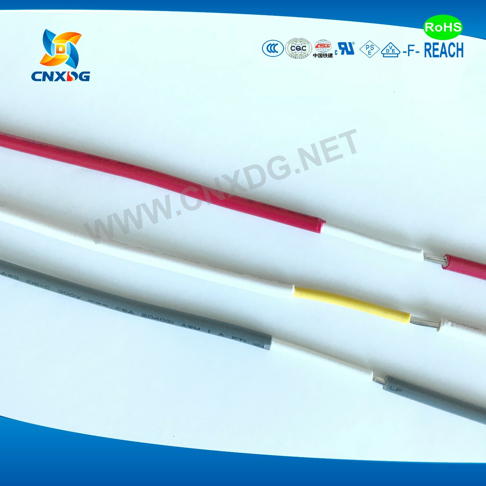 China Xlpvc Insulated Reinforced Wire UL 1672 18 AWG - China Cable, Wire