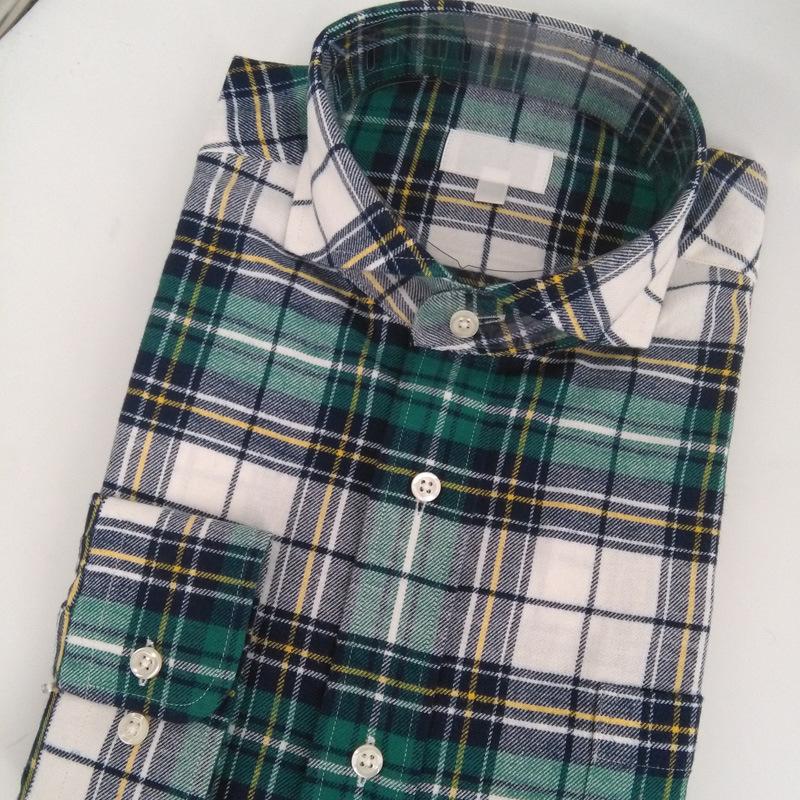 9e043afa58c8 China Men′s Long Sleeve Cotton Brushed Flannel Shirt - China Plaid Shirt,  Checked Shirt