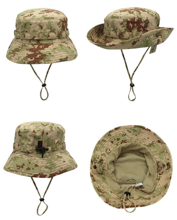 China Cotton Military Blue Camo Wholesale Bucket Hats Photos ... 72990047eb85