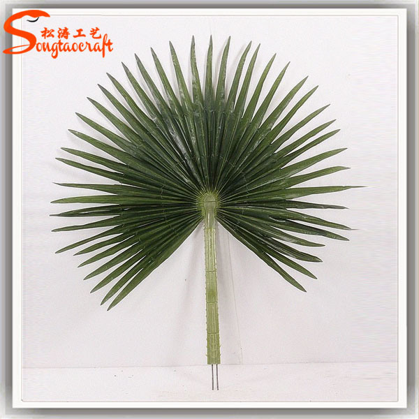 China High Quality Artificial Pan Palm Tree Leaves For Decoration China Artificial Pan Palm Leaves And Artificial Pan Palm Branch Price