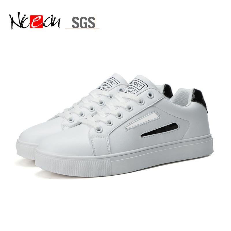 stylish white shoes